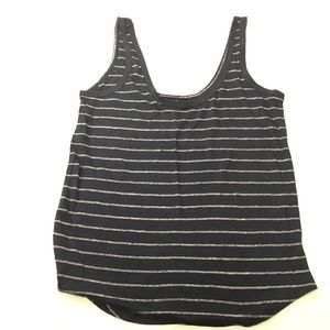 Paige Tank Top Striped Navy Med AA00019